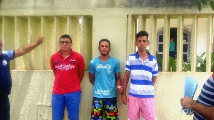 Operação da Policia Civil de Ubajara e Tianguá prende suspeitos de realizar assaltos na Serra da Ibiapaba