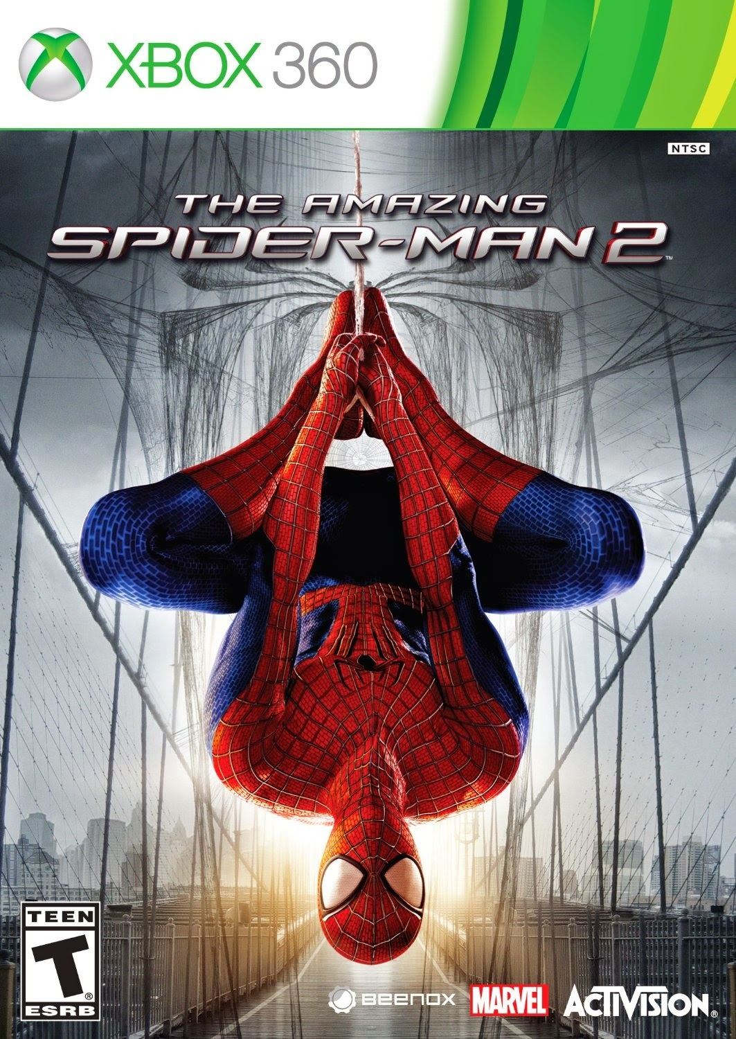 Cover Caratula The Amazing Spider-Man 2 XBOX 360 ESPAÑOL