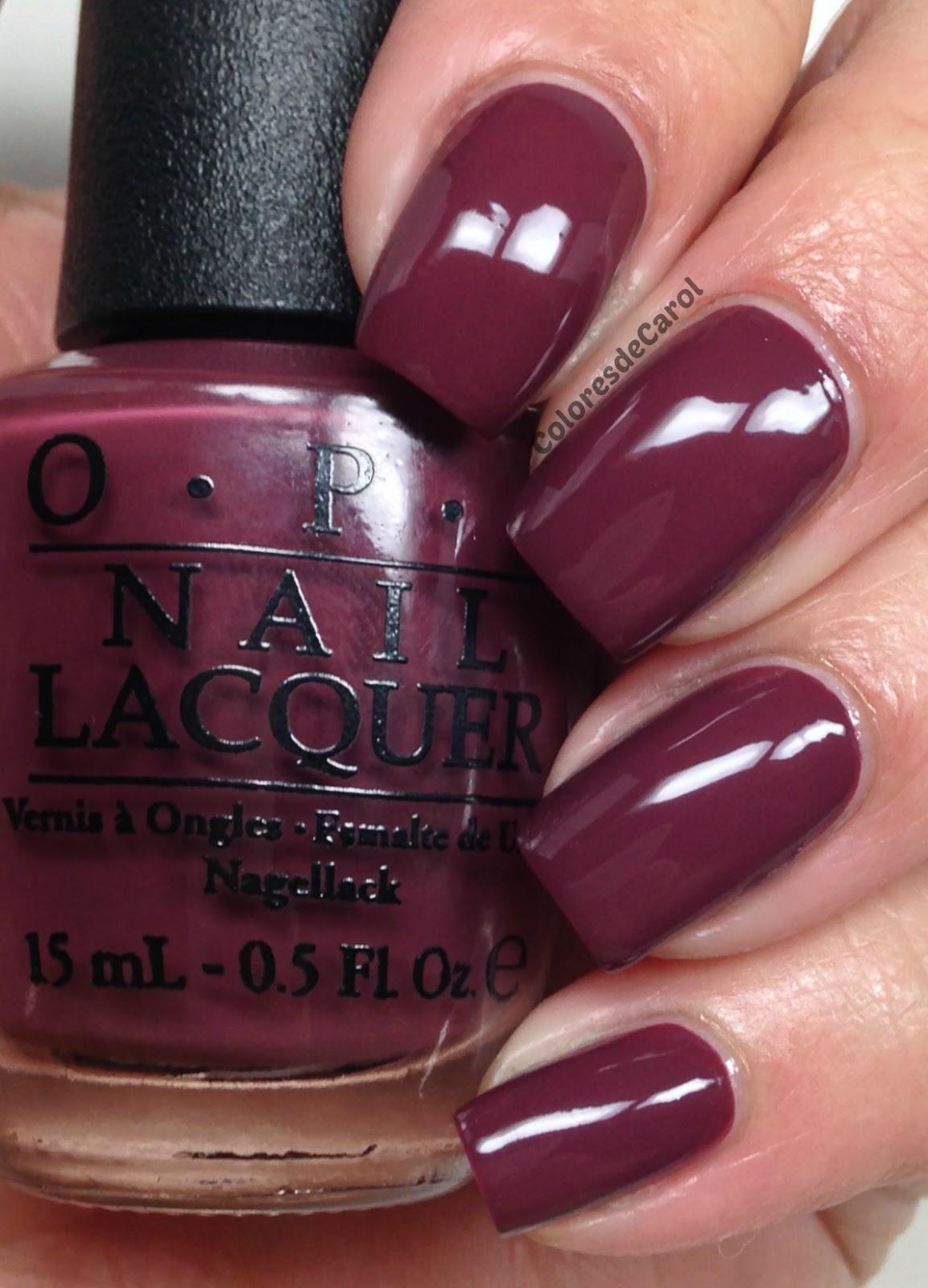 Dark Purple Opi Nail Polish   Best Nail Designs 2018