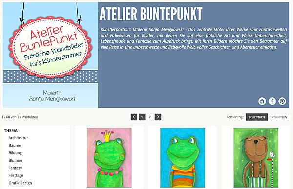 15 Jahre Posterlounge – Vorschau Galerie von Atelier BuntePunkt auf Posterlounge
