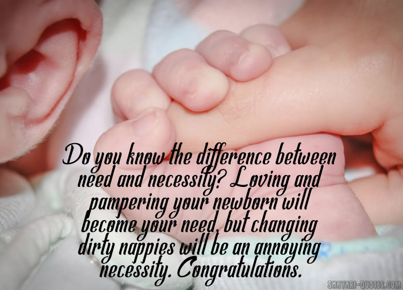 Congratulations For Newborn Baby Boy Messages Quotes Wishes And