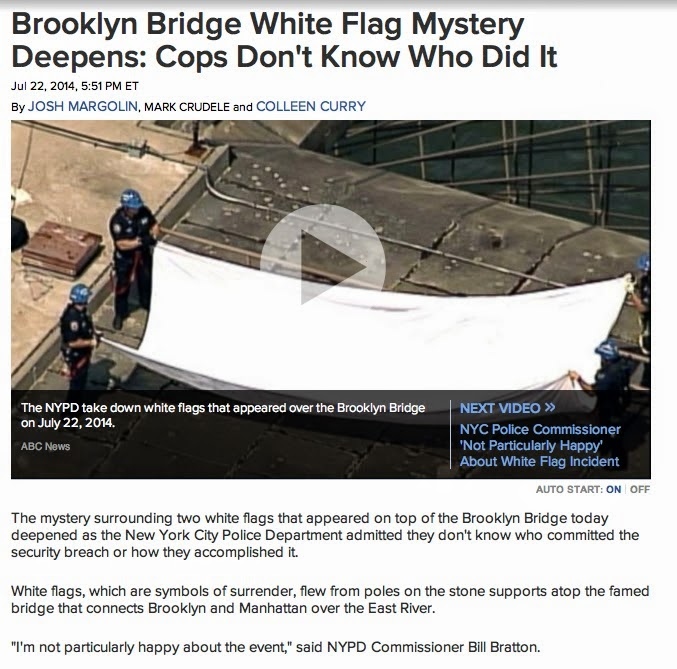 Have you ever wondered?: Brooklyn White Flag Mystery Solved Again