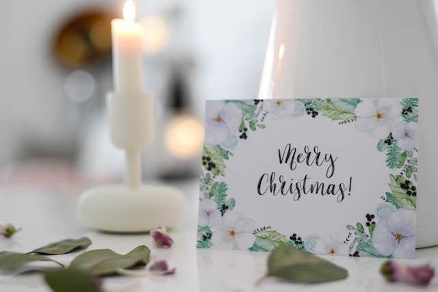 Kauneimmat joulukortit