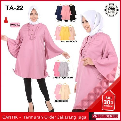 MNF351B130 Baju Muslim Wanita 2019 Ta 22 Panjang 2019 BMGShop