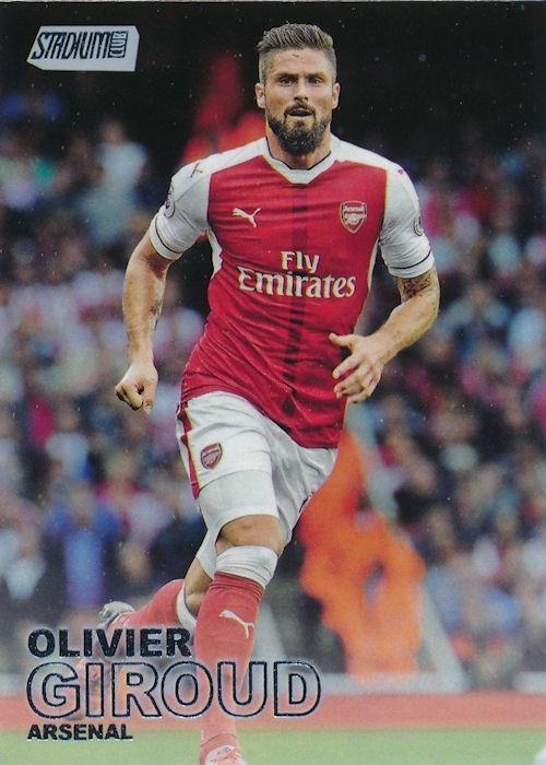 2016-17 Topps Stadium Club Premier League Contact Sheet #CS-10 Sergio Aguero