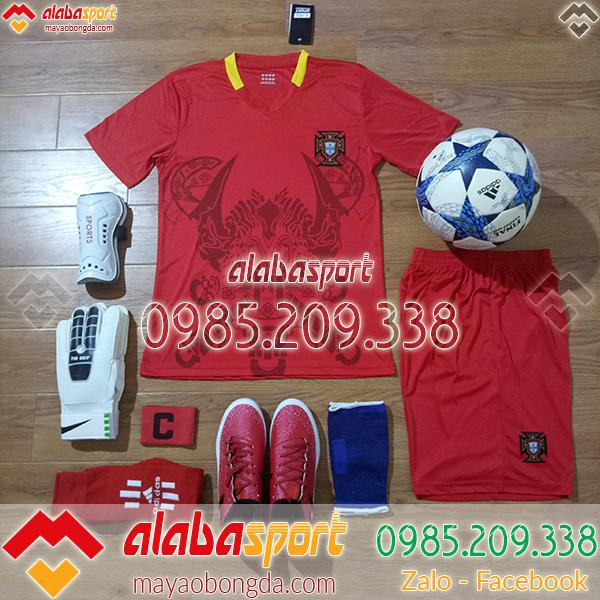 áo bồ đào nha đỏ world cup 2018