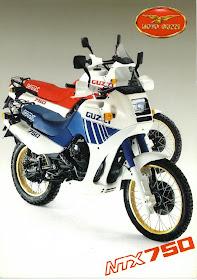 Moto Guzzi NTX 750 Enduro Motorcycle