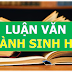 Luận án, Luận văn ngành Sinh học, sư phạm Sinh học [PHẦN 1]