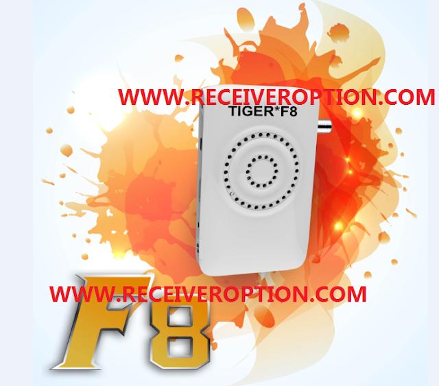 TIGER F8 HD RECEIVER NEW SOFTWARE