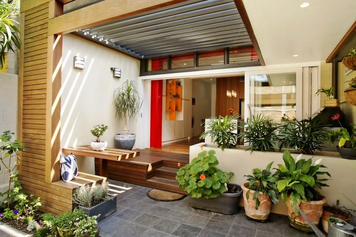 Ide Dekorasi Teras Rumah Minimalis ala Bungalow