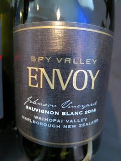Spy Valley Envoy Sauvignon Blanc 2014 (91 pts)