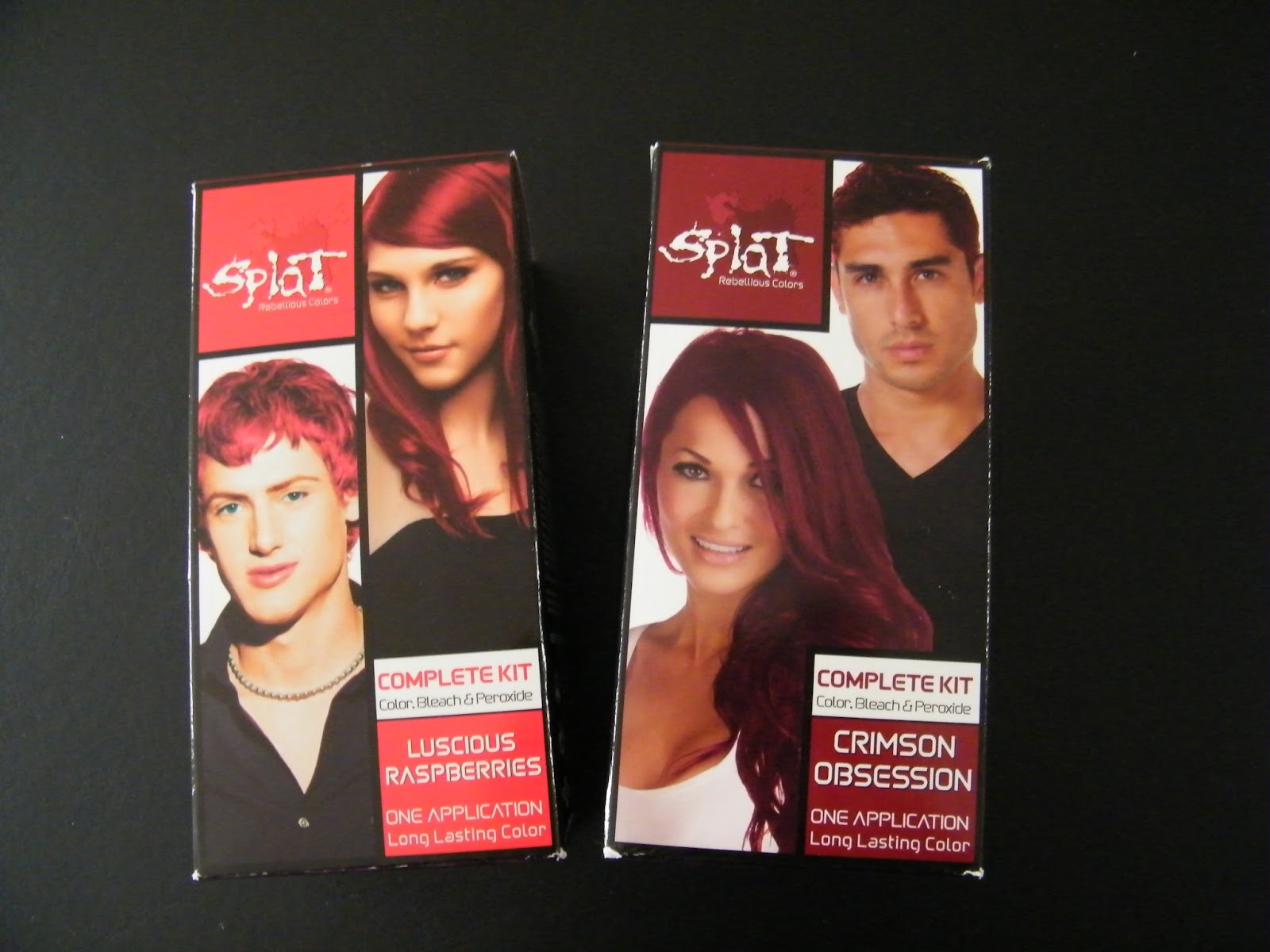Splat Hair Color This Is The Same Brand I Used A Few Years Back To Dye My Pink Hadn T Had Any Problems With It So Figured Why Not