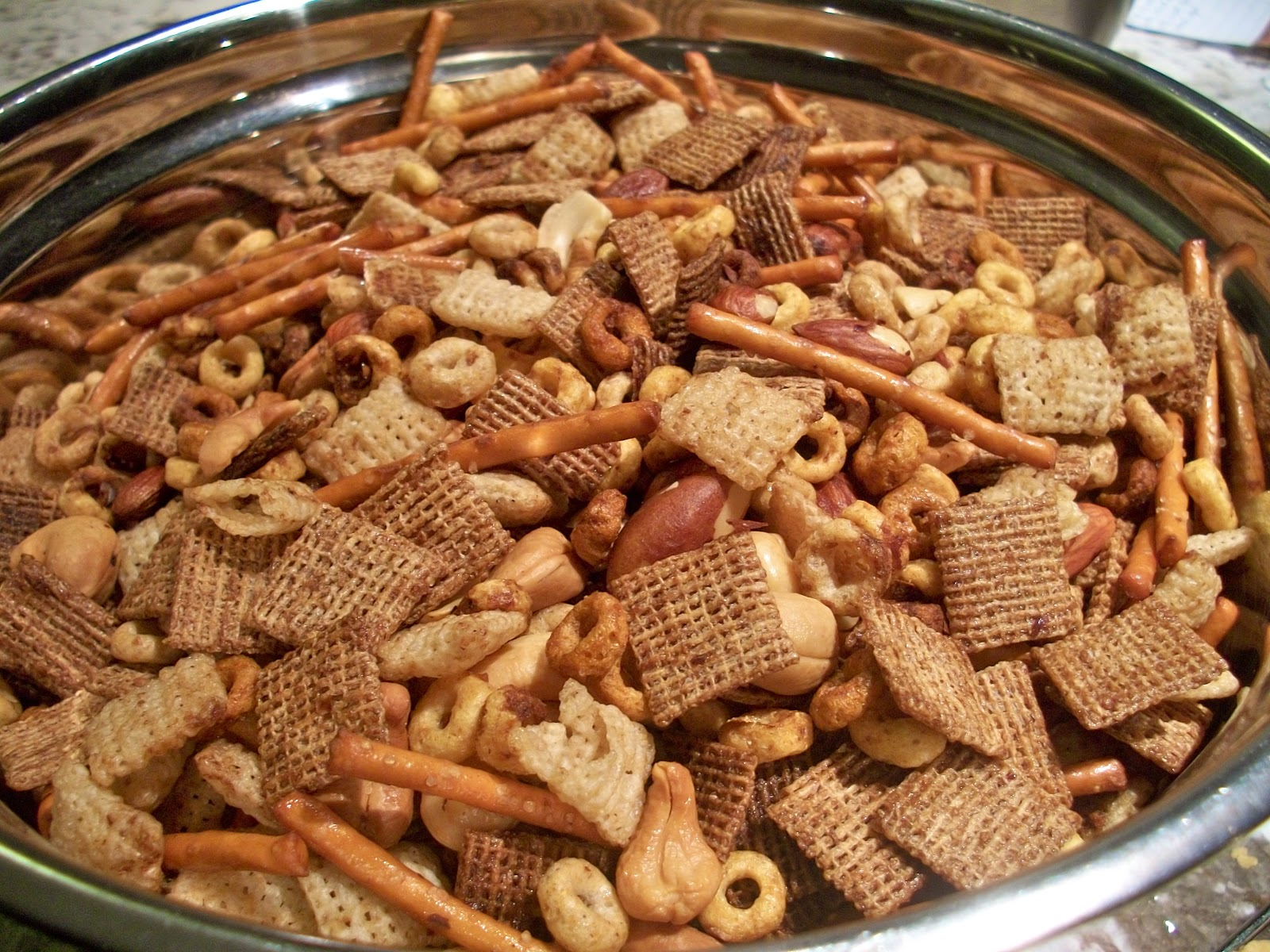 Brooke Bakes : Nuts & Bolts Snack Mix