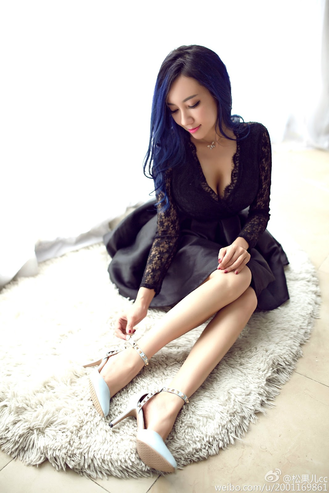 Preatty Asian Adult Model Song Guo Er 宋國洱 Sexiest Big Size Breast Hot Lingerie