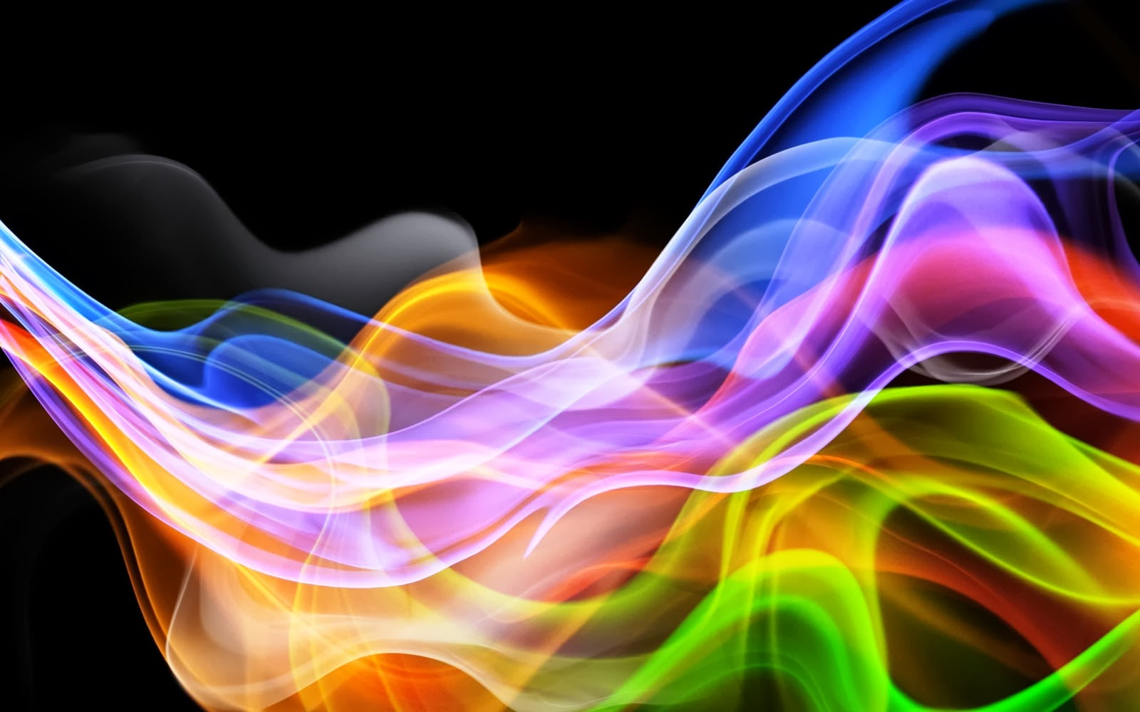 abstract rainbow background wallpaper black - photo #46
