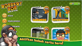 Robbery Bob Apk Mod Unlocked + Money for android
