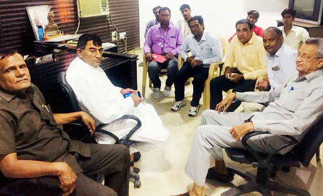 Regional General Secretary Rajendra Sharma took a meeting of the leaders of the rally