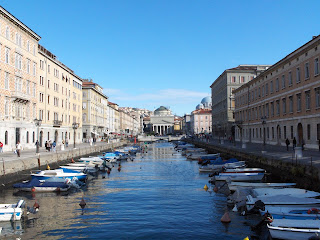 The Canal Grande is one of the attractions of Trieste, a port city with a great literary tradition