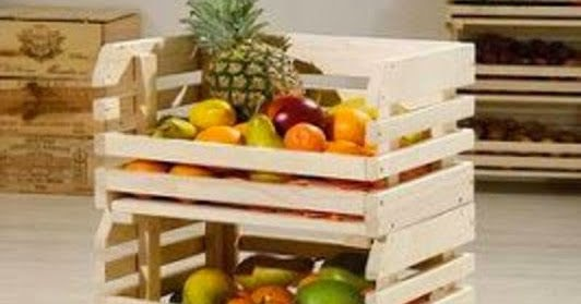 Diy frutero con ruedas caf largo de ideas decoraci n for Diseno de muebles con cajones de verduras