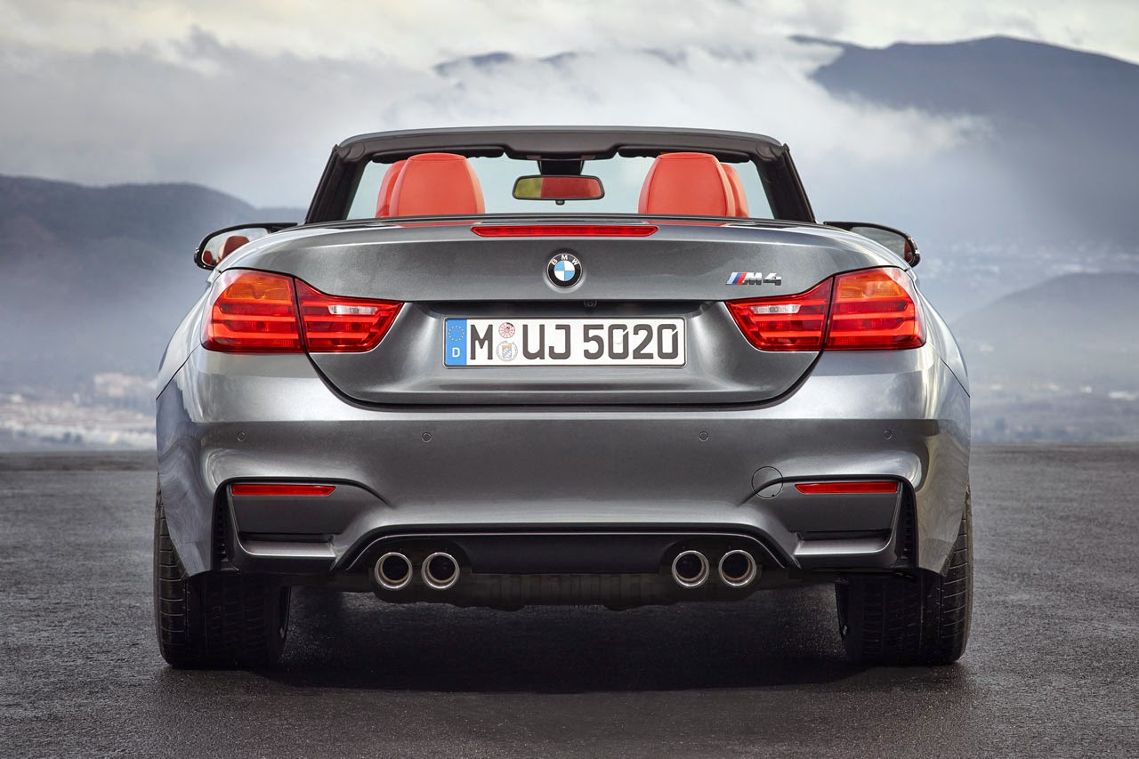 BMW M4 Convertible back
