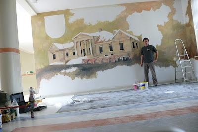 Malowanie obrazów na ścianie, malowanie na ścianie, obrazy wielkoformatowe