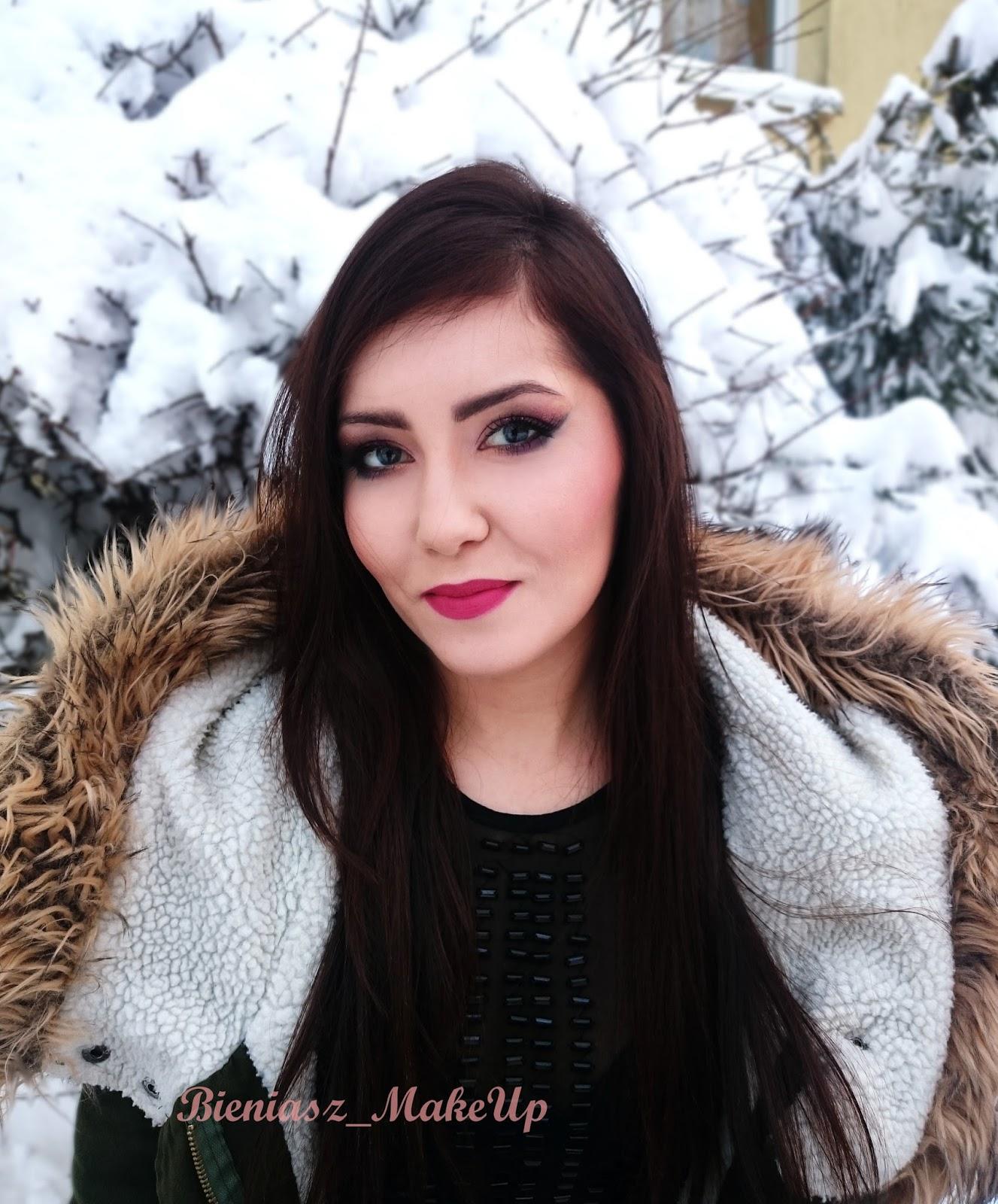Zimowy makijaż z marką INGLOT