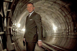 Skyfall starring Daniel Craig as 007