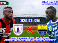 Final ISL 2014: Persipura vs Persib