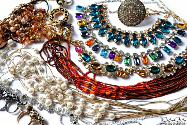Romwe Mega Fashion Jewellery Haul at Eid