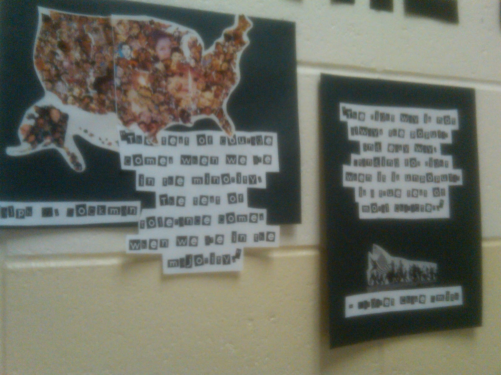 Room 167 Freedom Writers Poster Project Choose A Quote