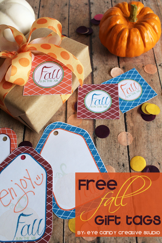 fall is in the air, fall gift tags, fall toppers, fall designs, gift giving, freebie