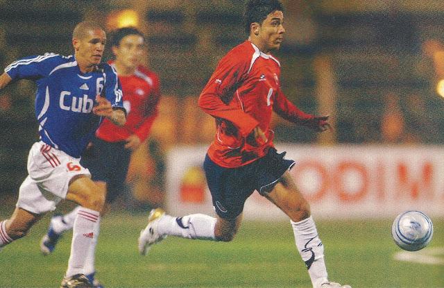 Chile y Cuba en partido amistoso, 9 de mayo de 2007