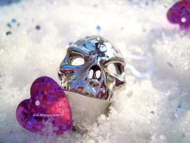 Bague I am the skull - Nous Sommes Des Héros - Les Mousquetettes©