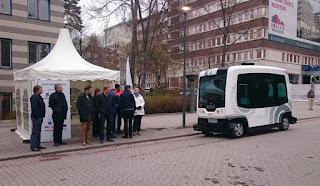 Сеть 5G в Европе будут использовать для беспилотного транспорта!