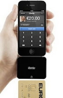 iZettle iPhone credit card reader available in Sweden
