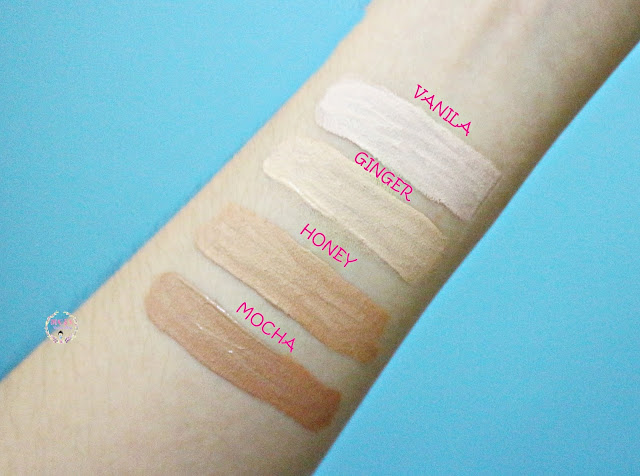 Althea Flawless Creamy Concealer (4 colors) Swatches