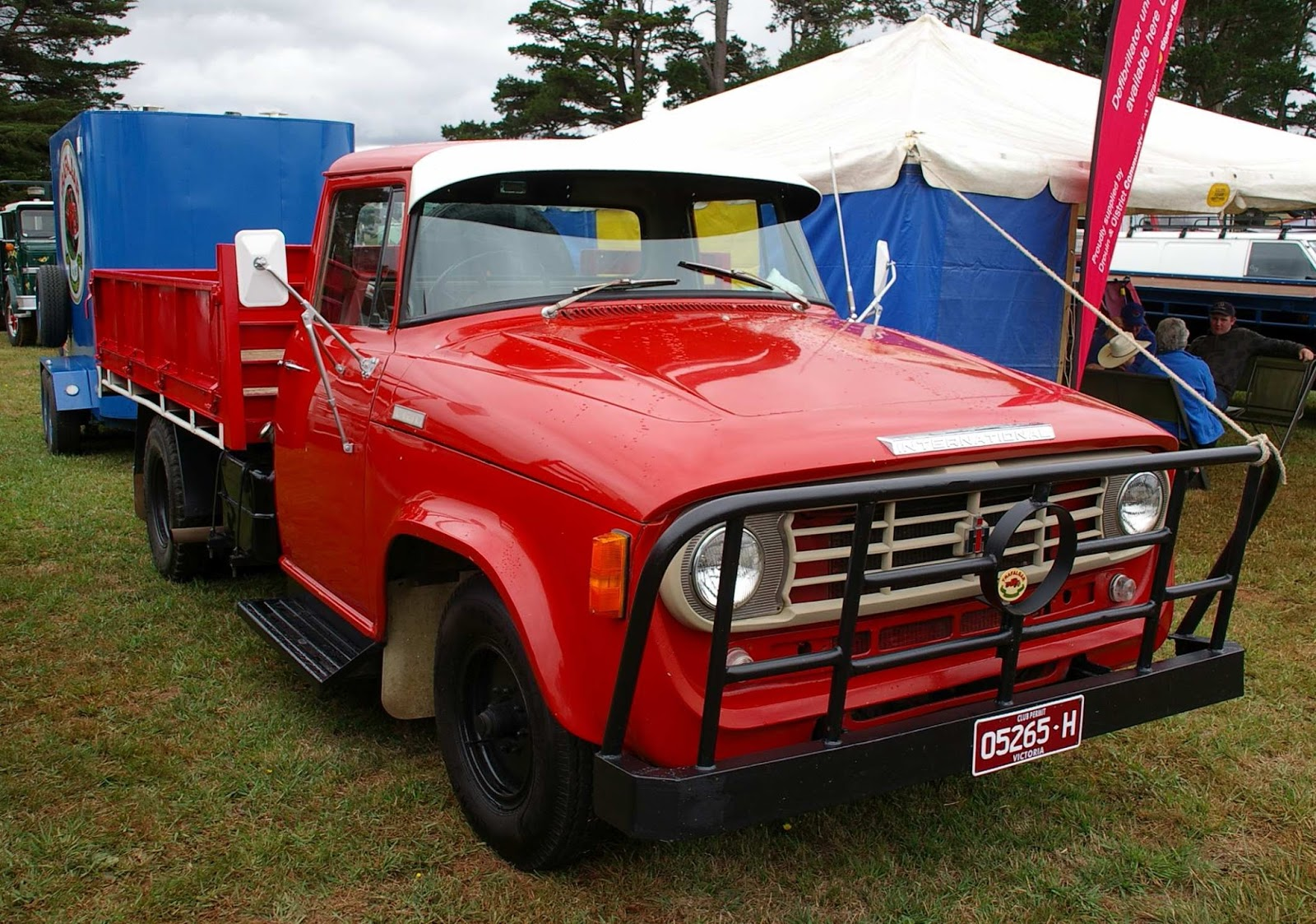 Jim Ellis Chevrolet >> Historic Trucks: Neerim Show 2016