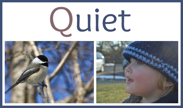 quietly listening to nature