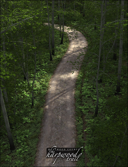 Harpwood Trail for Daz Studio
