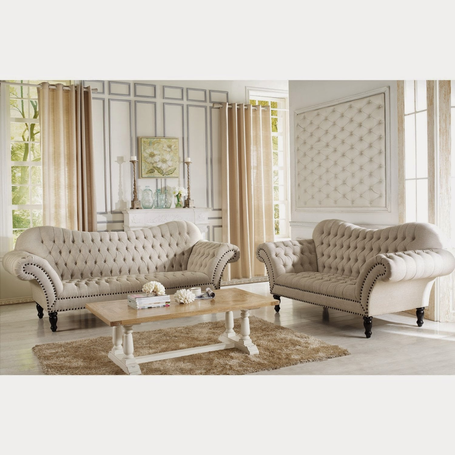 Modern Victorian Sofa Outback By Simmons Upholstery Furniture Of America Zilly