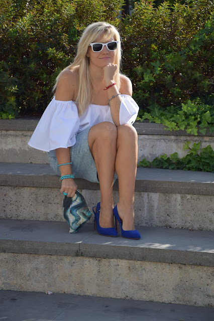 scarpe blu sling back come abbinare le scarpe blu blue heels how tow ear blue heels