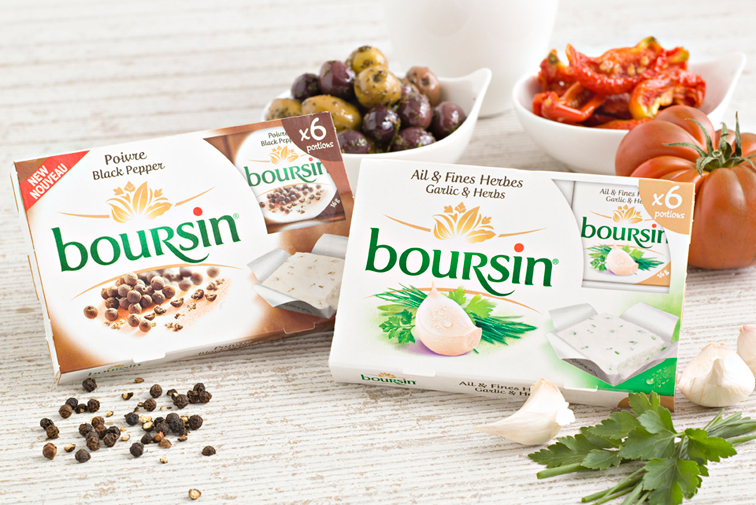 Boursin Black Pepper Cheese Portions