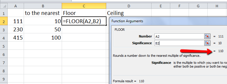 excel vba function