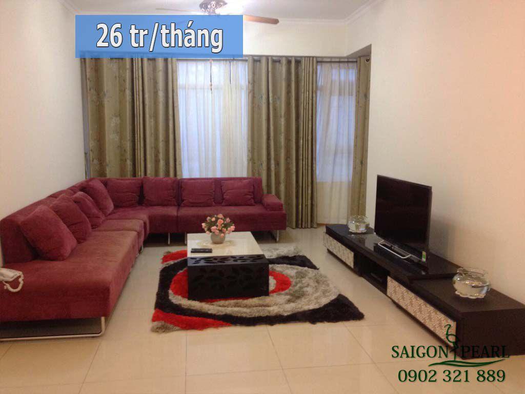 Cho thuê căn hộ Saigon Pearl quận Bình Thạnh giá rẻ - 1