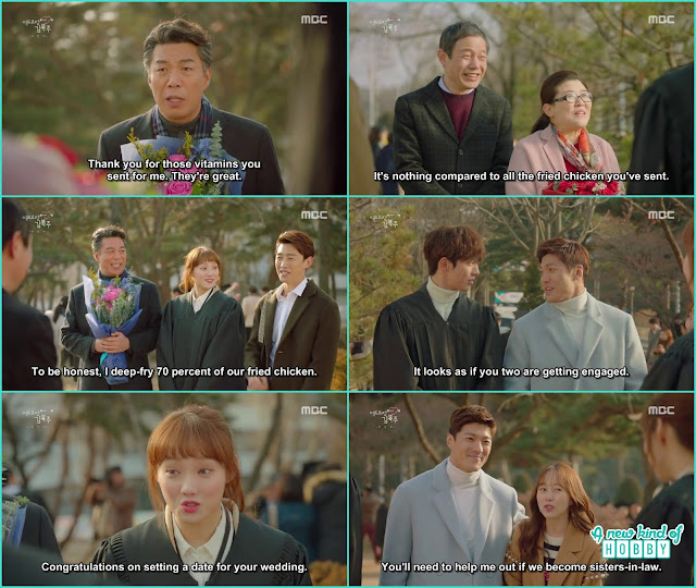 weightlifters and swimmers graduations day -  Weightlifting Fairy Kim Bok Joo: Episode 16 Finale
