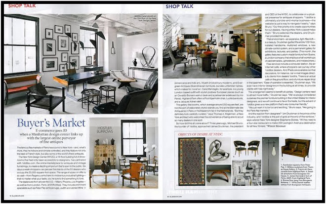 Highland Park in Elle Decor May 2011 - Shop Talk