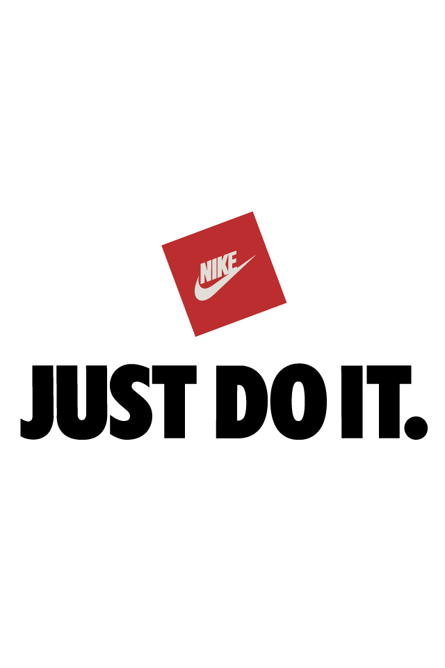 Just Do It Wallpaper: Nike Just Do It White