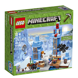 Minecraft The Ice Spikes Lego Set