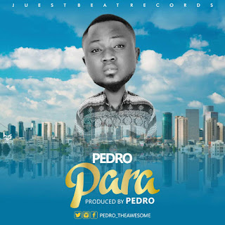 Pedro release his first official single titled para. Download music and listen