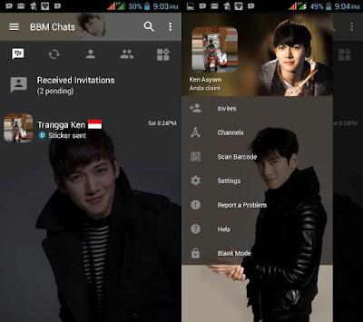 BBM Mod Ji Chang Wook v3.2.0.6 APK (BBM MOD Transapran 2017)
